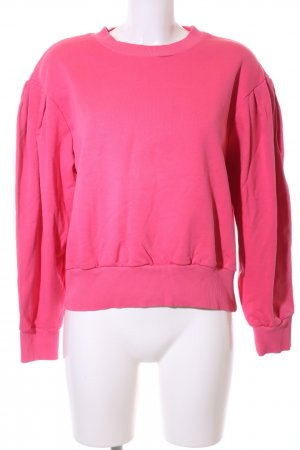 & other stories Rundhalspullover pink Casual-Look