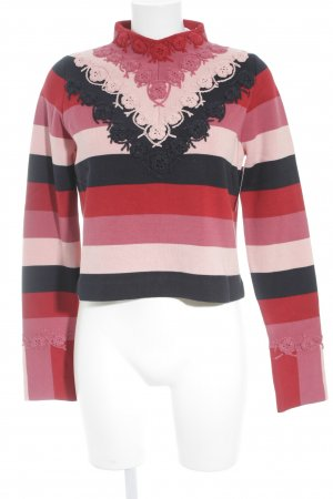 & other stories Rundhalspullover florales Muster Casual-Look