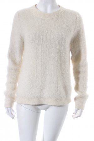 & other stories Rundhalspullover hellbeige Casual-Look