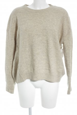 & other stories Rundhalspullover mehrfarbig Casual-Look