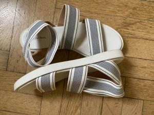 & other stories Strapped Sandals white-black