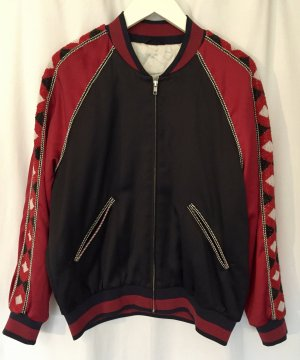 & other stories Bomber Jacket multicolored polyester