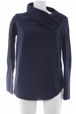 & other stories Slip-over blouse donkerblauw simpele stijl