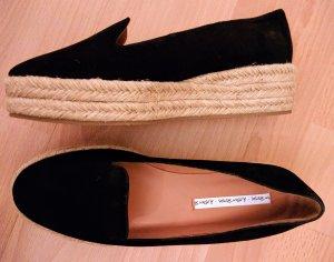 & other Stories Schuhe Leder Slipper Plateau Ballerina *Neu