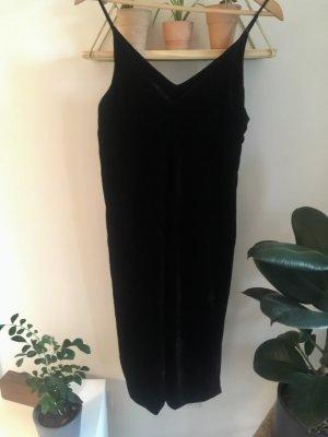&other Stories Schwarzes Kleid aus Samt