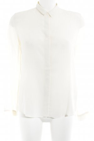 & other stories Seidenbluse creme Business-Look