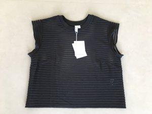 & other stories  Shirt NEU! Schwarz  transparent Streifen
