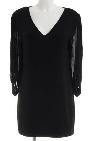 & other stories Shirtkleid schwarz klassischer Stil