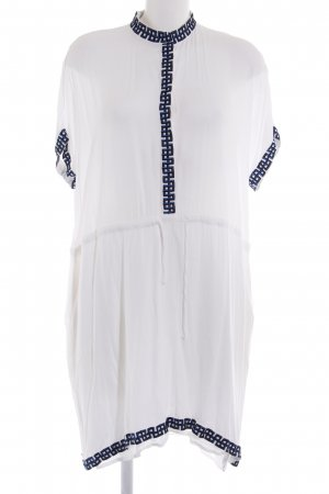 & other stories Robe t-shirt blanc Look de plage
