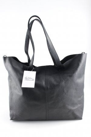 & other stories Shopper schwarz Animalmuster klassischer Stil