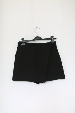 & Other Stories Shorts Skorts Gr. 36 schwarz Mini Baumwolle Rock