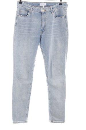 & other stories Slim Jeans hellgrau Casual-Look