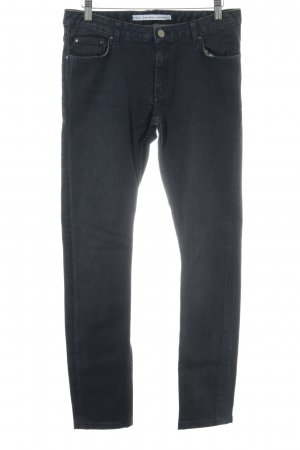 & other stories Slim Jeans schwarz Casual-Look