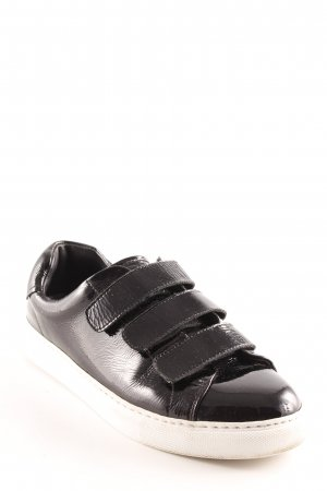 & other stories Sneaker Klettverschluss schwarz Casual-Look