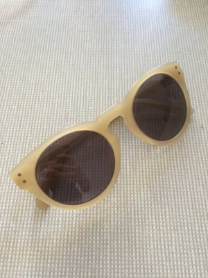 & other stories Sonnenbrille , beige, rund, stylisch