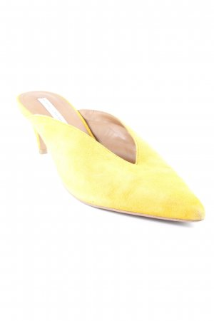 & other stories Décolleté a punta giallo-oro elegante