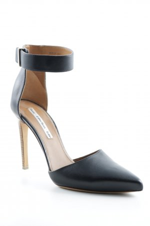 & other stories Spitz-Pumps schwarz-hellbraun Elegant