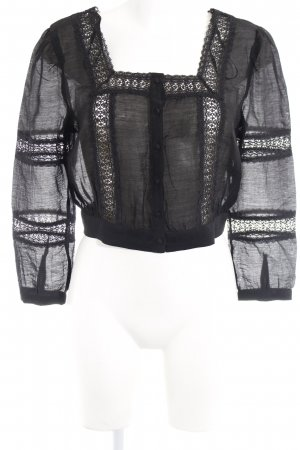 & other stories Blusa in merletto nero stile casual