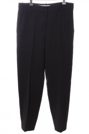 & other stories Stoffhose schwarz Business-Look