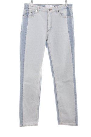 & other stories Straight-Leg Jeans blau extravaganter Stil