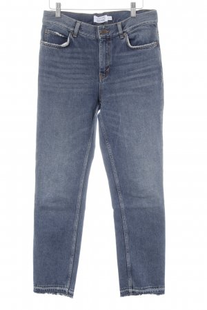 & other stories Straight-Leg Jeans blau Destroy-Optik