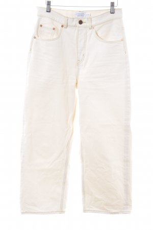 & other stories Straight Leg Jeans cream casual look
