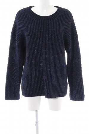 & other stories Knitted Sweater neon blue flecked casual look