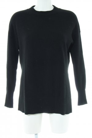 & other stories Strickpullover schwarz Casual-Look