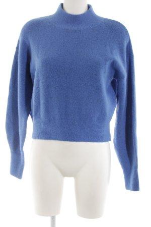 & other stories Pull tricoté bleu style décontracté