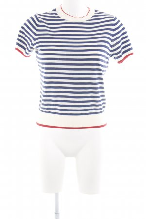 & other stories Knitted Sweater striped pattern casual look