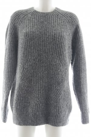 & other stories Strickpullover grau Casual-Look