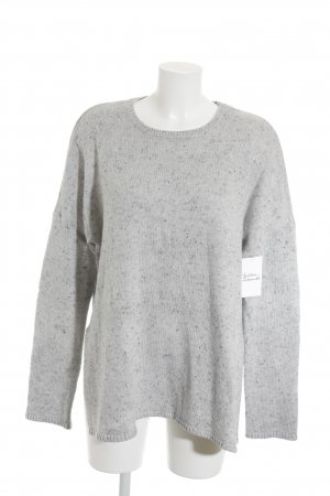 & other stories Strickpullover hellgrau Casual-Look