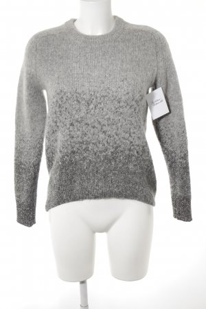 & other stories Knitted Sweater light grey casual look
