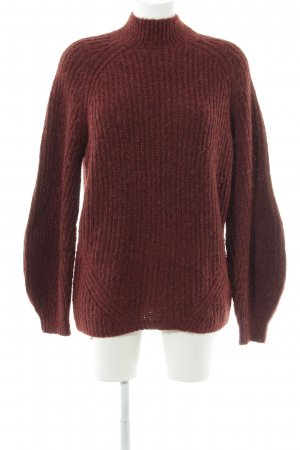 & other stories Strickpullover karminrot Casual-Look