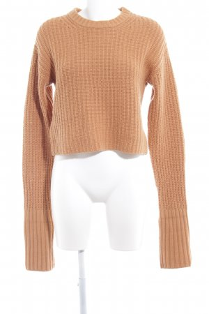 & other stories Strickpullover sandbraun Casual-Look