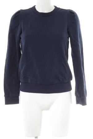 & other stories Sweatshirt dunkelblau klassischer Stil