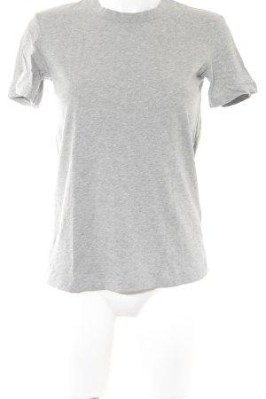 & other stories T-Shirt hellgrau meliert sportlicher Stil