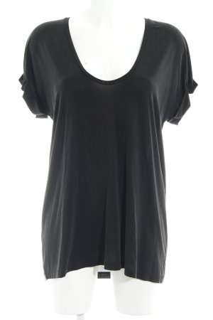 & other stories T-Shirt schwarz Casual-Look