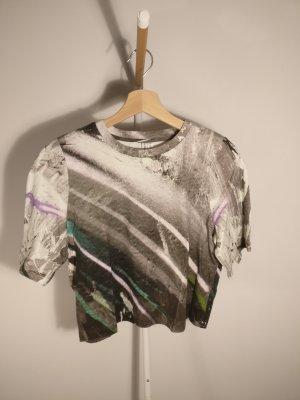 & other stories T-Shirt XS Grau Bunt Meliert