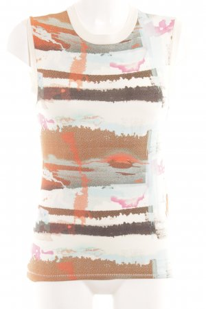 & other stories Tank Top abstract pattern Aztec print