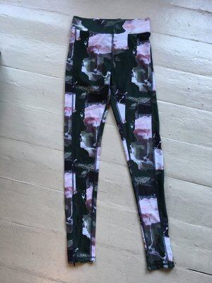 & Other Stories Tights Leggings Workout Limited Edition Blumen 38