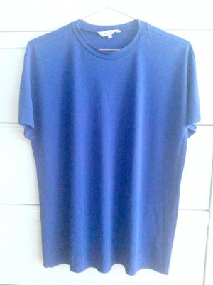 &other stories Viskose T-Shirt 42/L blau blogger trend cos zara
