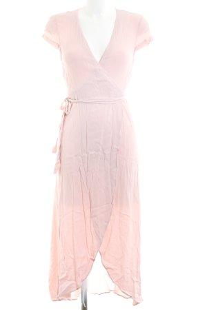 & other stories Wickelkleid pink Casual-Look
