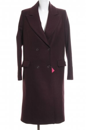 & other stories Winter Coat bordeaux simple style
