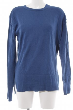 & other stories Wollpullover blau Streifenmuster Casual-Look