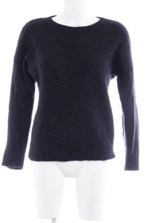 & other stories Jersey de lana azul oscuro estilo sencillo