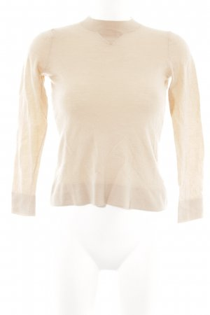 & other stories Wollpullover nude Casual-Look