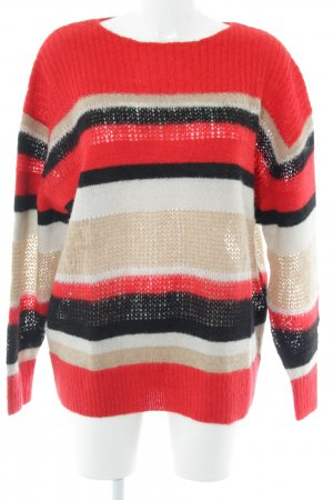 & other stories Wollpullover Ringelmuster Casual-Look