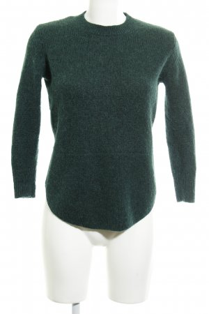 & other stories Wollpullover waldgrün Casual-Look