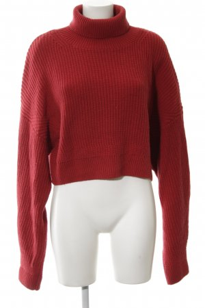 & other stories Wollpullover ziegelrot Casual-Look